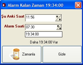 Delphi Alarm Programı