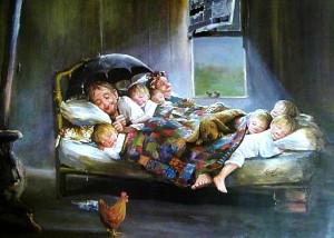 Mutlu Aile Tablosu
