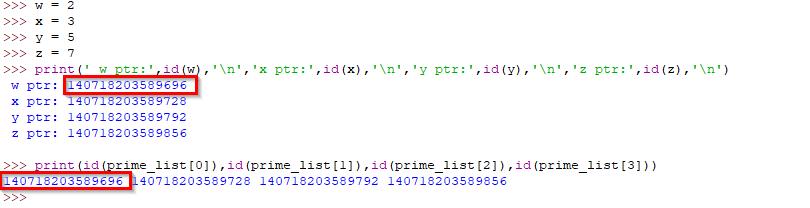 örnek idle da yazılmış bir kod parçacığı